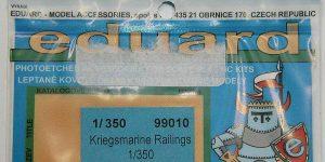 Kriegsmarine Railings 1:350 von Eduard #99010
