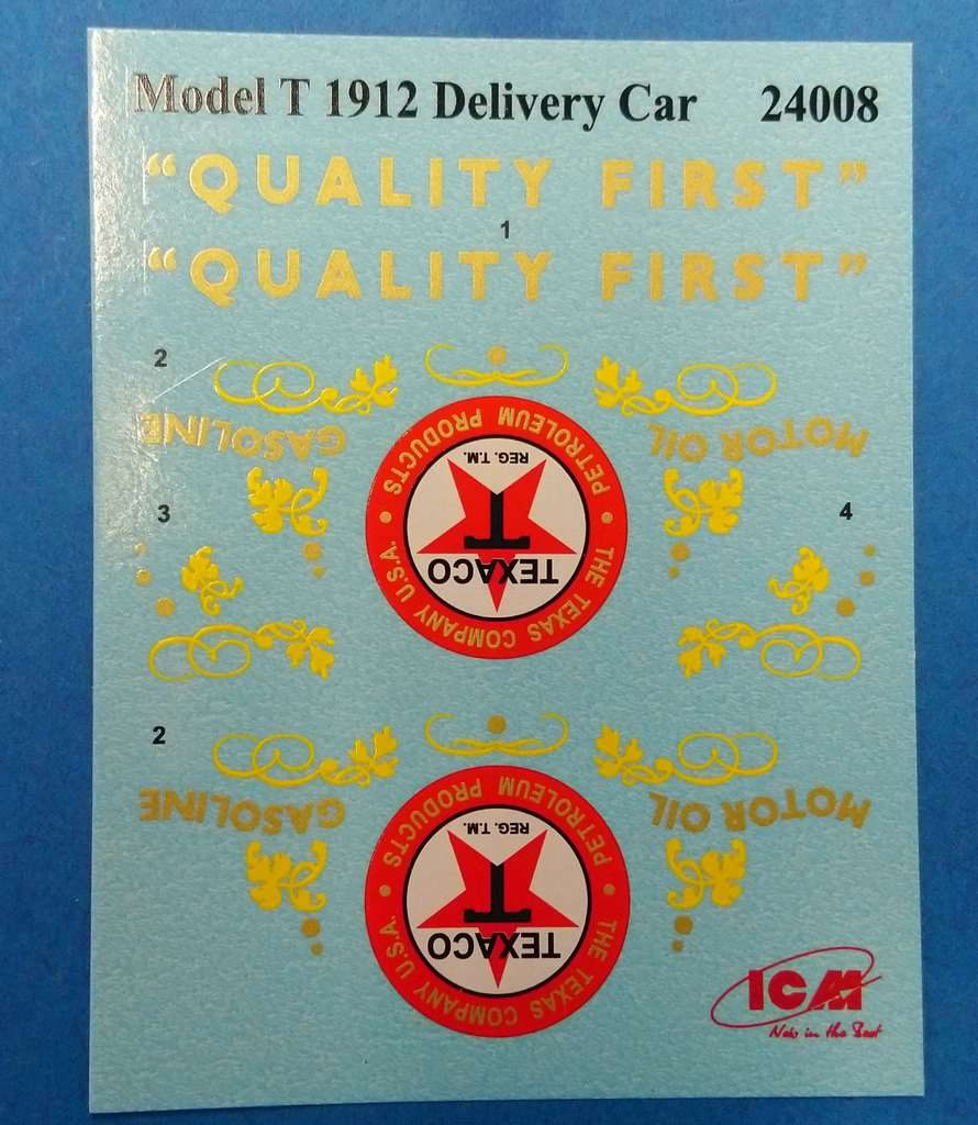 ICM-24008-Ford-Model-T-Light-DElivery-Car-11 Gasoline Delivery in 1:24 von ICM #24019