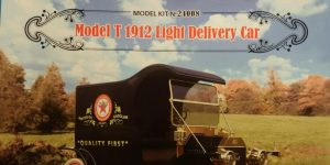 Ford Model T Light Delivery Car in 1:24 von ICM # 24008