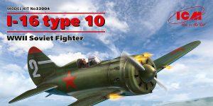 Polikarpov I-16 Type 10 in 1:32 von ICM # 32004
