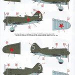 ICM-32004-Polikarpov-I-16-Typ-10-Markierungen-1-150x150 Polikarpov I-16 Type 10 in 1:32 von ICM # 32004