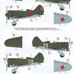 ICM-32004-Polikarpov-I-16-Typ-10-Markierungen-2-150x150 Polikarpov I-16 Type 10 in 1:32 von ICM # 32004