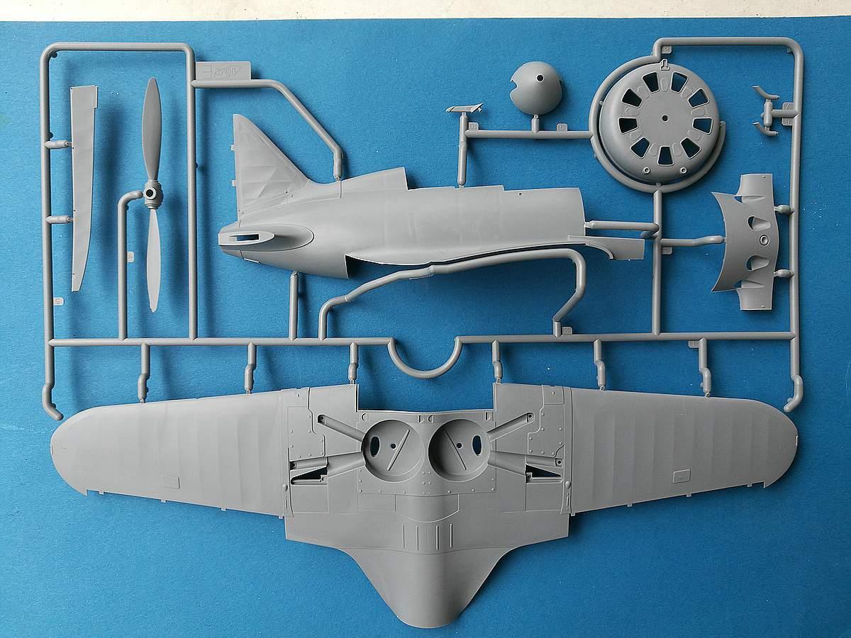 ICM-32004-Polikarpov-I-16-Typ-10-neue-Bauteile-1 Polikarpov I-16 Type 10 in 1:32 von ICM # 32004
