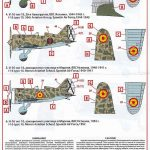 ICM-D3203-I-16-Type-10-Spanish-AF-3-150x150 I-16 Type 10 Spanish Airforce Decals in 1:32 # ICM D3203