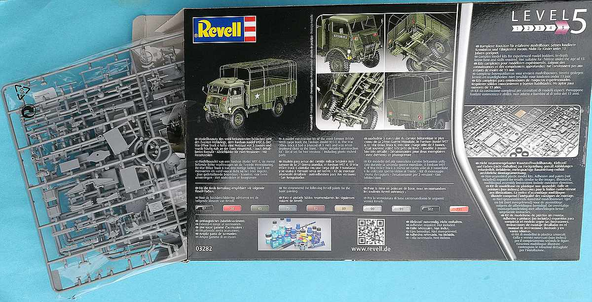 Revell-03282-Fordson-W.O.T-6-2 Fordson W.O.T. 6 in 1:35 von Revell # 03282