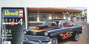 `56 Chevy Custom in 1:24 von Revell #07663