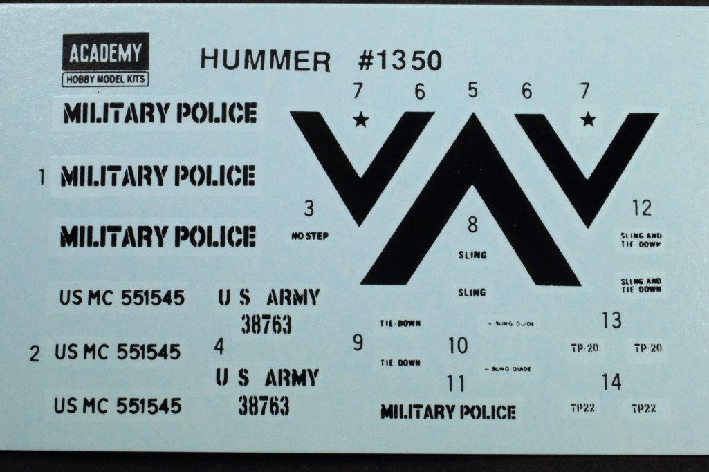 Review_Academy_HUMVEE_M1025_19 M1025 HUMVEE - Academy 1/35