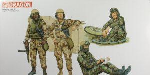 U.S. Tank Crew (modern) –  Dragon 1/35