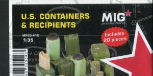 U.S. Containers & Recipients – MIG Productions 1/35