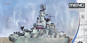 "USS Missouri – Meng ""Warship Builder""-Reihe"
