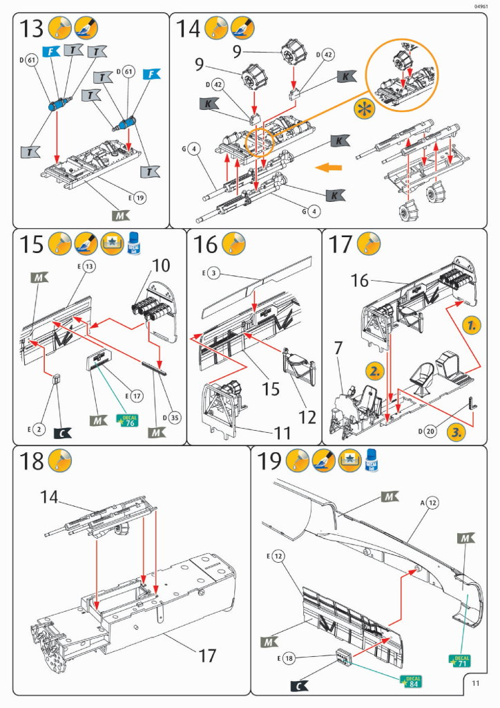Review_Revell_Bf110C2C7_59 Bf110 C2/C7 - Revell 1/32 - #04961