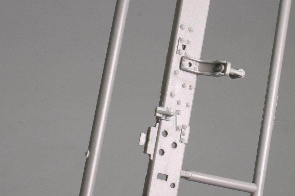 Review_Trumpeter_M983A2_009 M983A2 HEMTT mit M870A1 Semi Trailer - Trumpeter 1/35