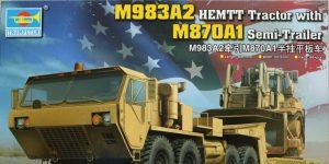 M983A2 HEMTT mit M870A1 Semi Trailer – Trumpeter 1/35
