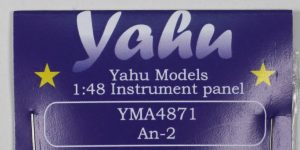 Armaturenbrett für die Antonov An-2 (Hobby Boss) – Yahu models 1/48
