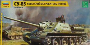 SU-85 – Zvezda 1/35