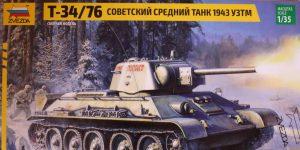 T-34/76  –  Zvezda 1/35