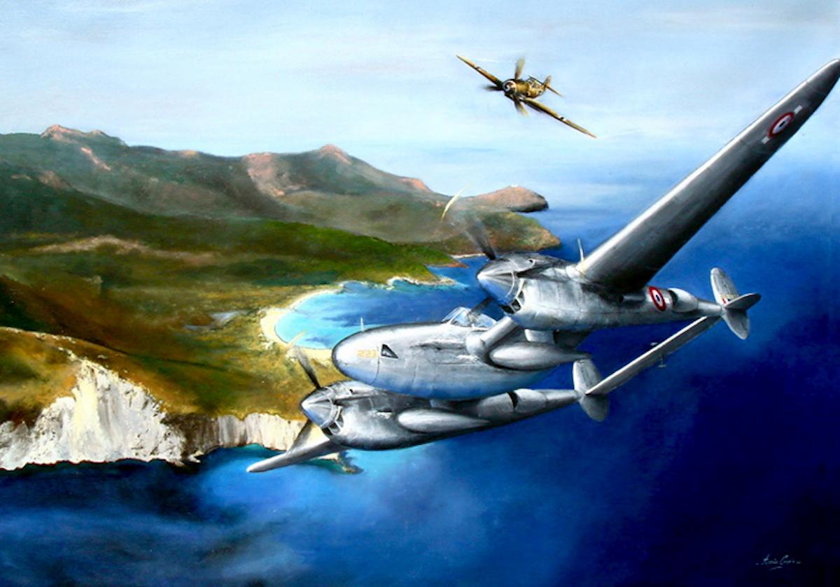 St.Exupery-La-dernière-mission 31. Juli 1944 - heute vor 75 Jahren starb Antoine de Saint-Exupéry