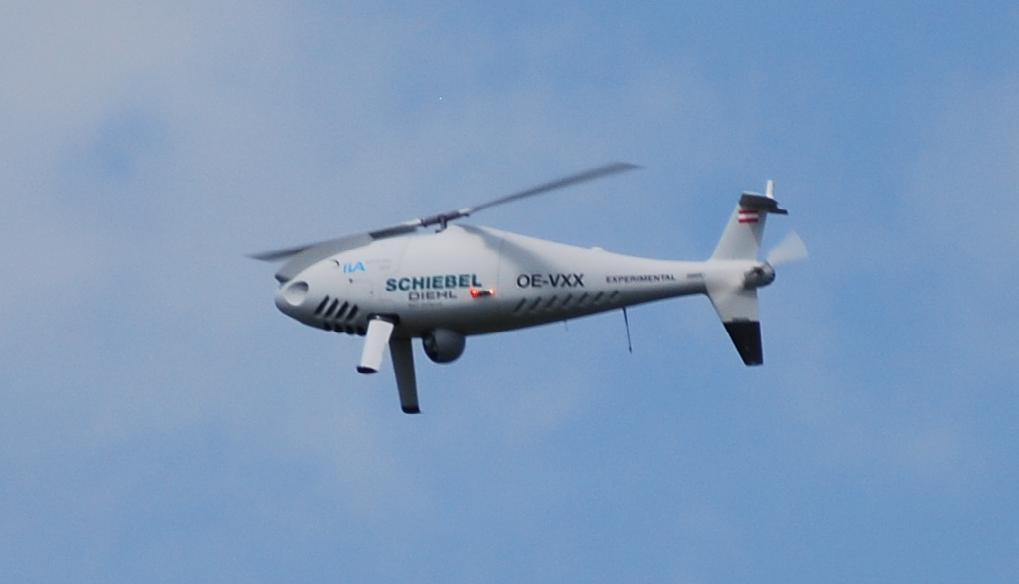 WiP3D-Schiebel-S-100-1 Drohnenhubschrauber Schiebel S-100 in 1:72 von WiP3D #32001