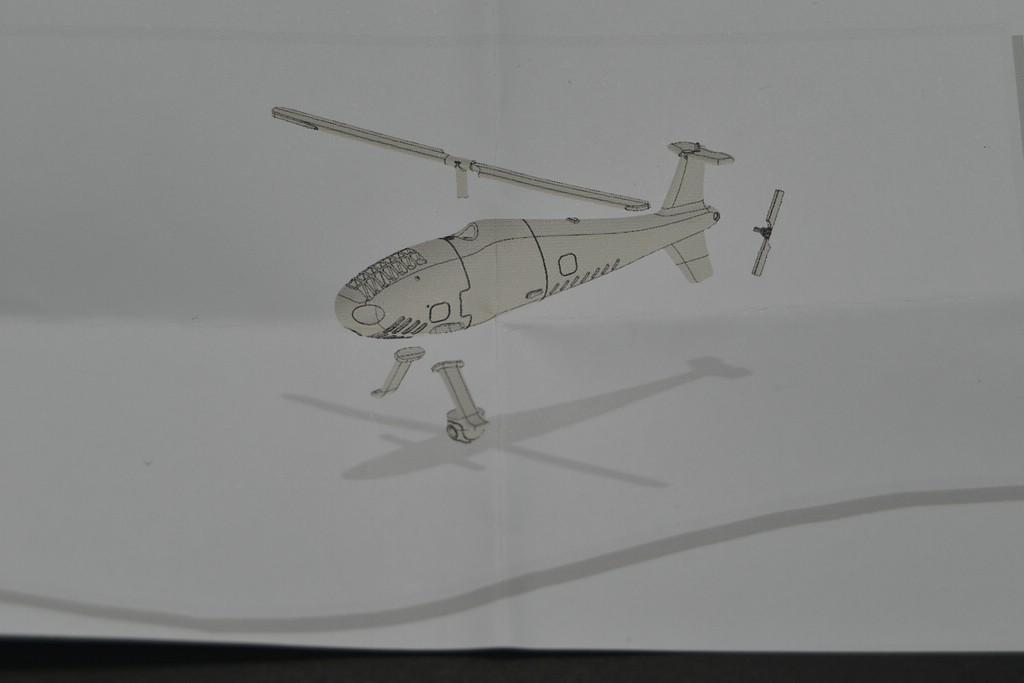 WiP3D-Schiebel-S-100-15 Drohnenhubschrauber Schiebel S-100 in 1:72 von WiP3D #32001