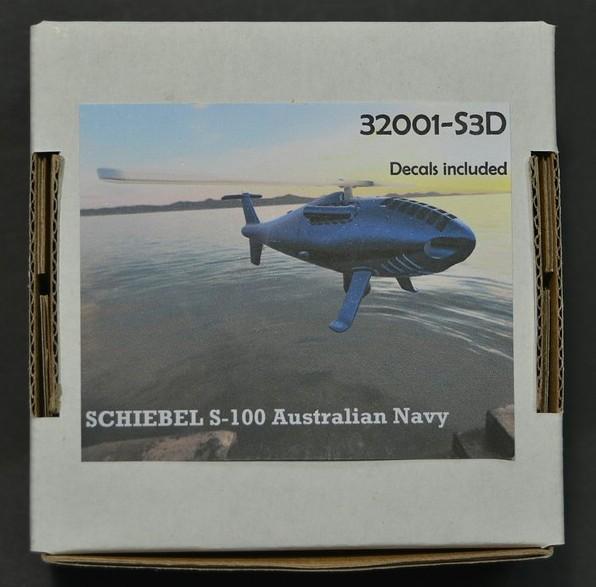 WiP3D-Schiebel-S-100-3 Drohnenhubschrauber Schiebel S-100 in 1:72 von WiP3D #32001
