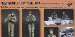 West German Army Tank Crew 1:35 Valkyrie Miniatures (#VM35006)