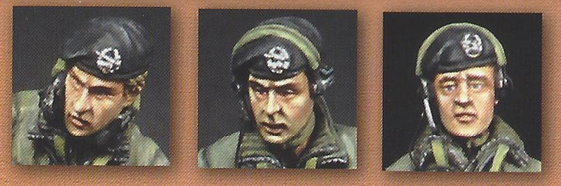 2-1 West German Army Tank Crew 1:35 Valkyrie Miniatures (#VM35006)