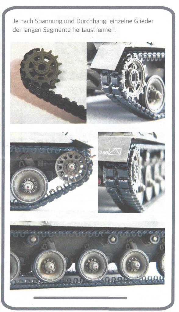 2 KaJaPa Kette Diehl 828G 1:35 A1 Design/Perfect Scale (#A1005)