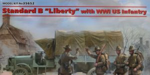 "Standard B ""Liberty"" with WW I US Infantry 1:35 ICM # 35652"