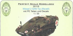 Wiesel SAN Trp 1:35 Perfect Scale (#35118 )