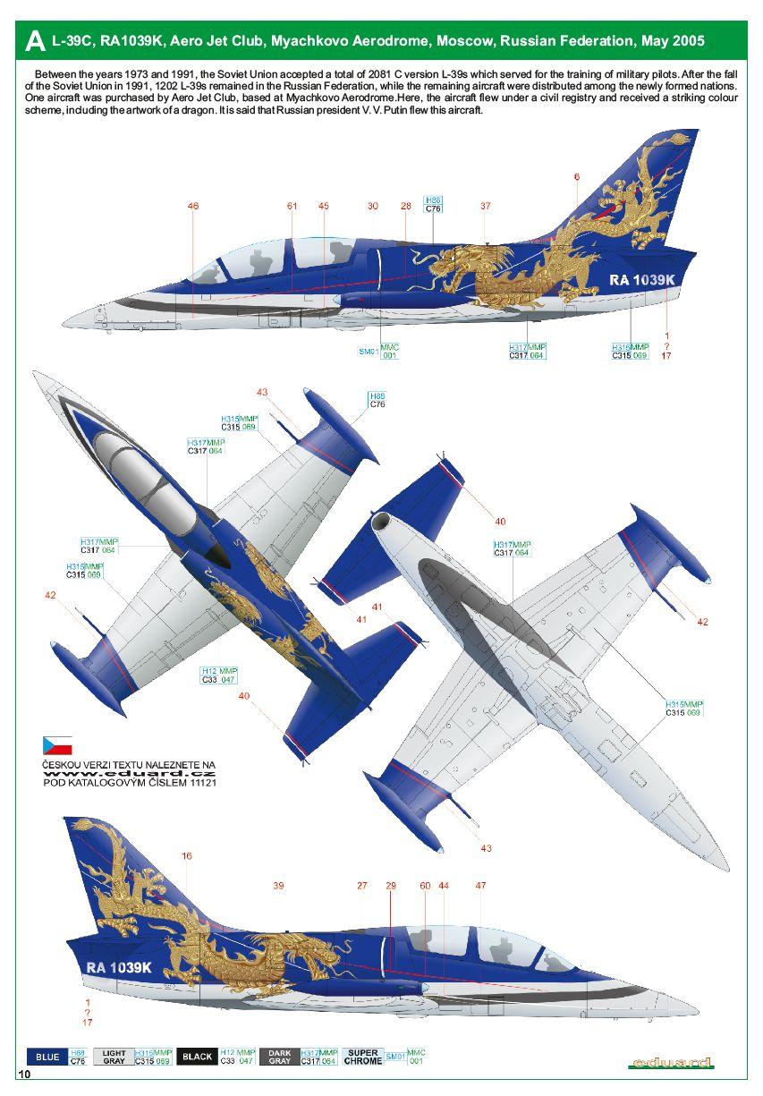 Eduard-11121-L-39-Albatros-Evolution11 L-39 Albatros EVOLUTION von Eduard # 11121