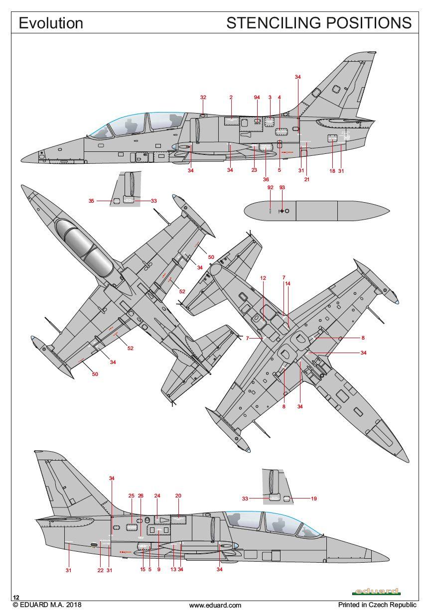 Eduard-11121-L-39-Albatros-Evolution3 L-39 Albatros EVOLUTION von Eduard # 11121