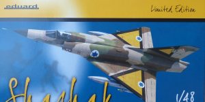 "Mirage III CJ ""Shachak"" in 1:48 als Limited Edition  Eduard # 11128"