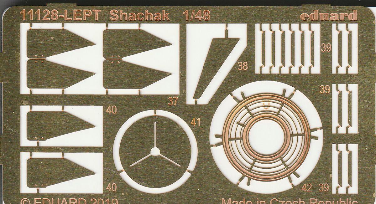"Eduard-11128-Shachak-42 Mirage III CJ ""Shachak"" in 1:48 als Limited Edition  Eduard # 11128"