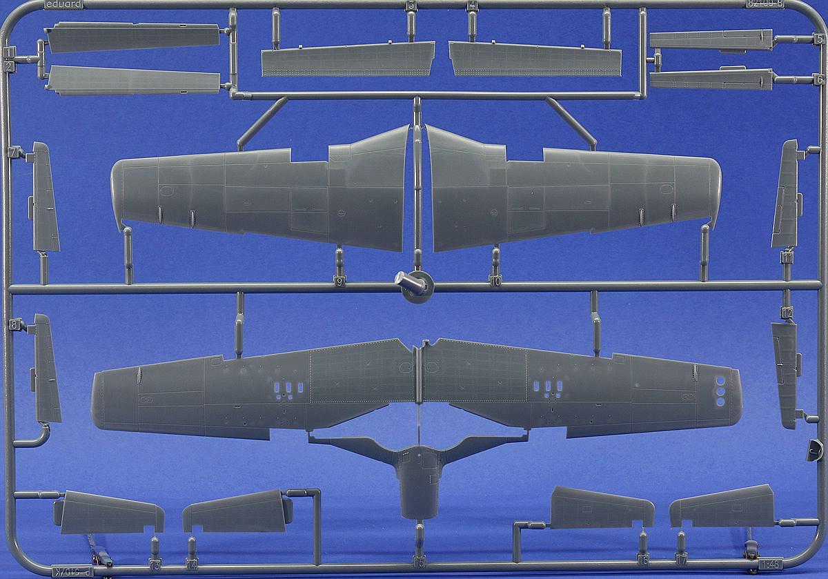 Eduard-11134-P-51-D-5-Chattanooga-10 P-51 D-5 Chattanooga Choo Choo in 1:48 von Eduard 11134