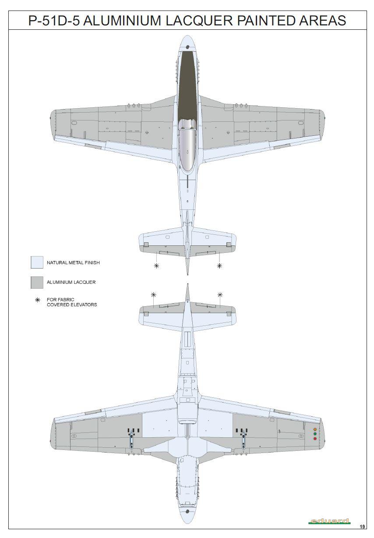 Eduard-11134-P-51-D-5-Chattanooga-Bemalung P-51 D-5 Chattanooga Choo Choo in 1:48 von Eduard 11134