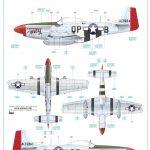 Eduard-11134-P-51-D-5-Chattanooga-Markierungen-2-150x150 P-51 D-5 Chattanooga Choo Choo in 1:48 von Eduard 11134