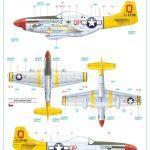 Eduard-11134-P-51-D-5-Chattanooga-Markierungen-3-150x150 P-51 D-5 Chattanooga Choo Choo in 1:48 von Eduard 11134