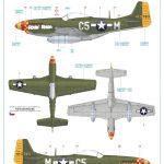 Eduard-11134-P-51-D-5-Chattanooga-Markierungen-4-150x150 P-51 D-5 Chattanooga Choo Choo in 1:48 von Eduard 11134
