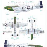 Eduard-11134-P-51-D-5-Chattanooga-Markierungen-6-150x150 P-51 D-5 Chattanooga Choo Choo in 1:48 von Eduard 11134