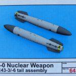 Eduard-648459-150x150 B 43 Nuclear Weapons in 1:48 von Eduard #648459 und #648459