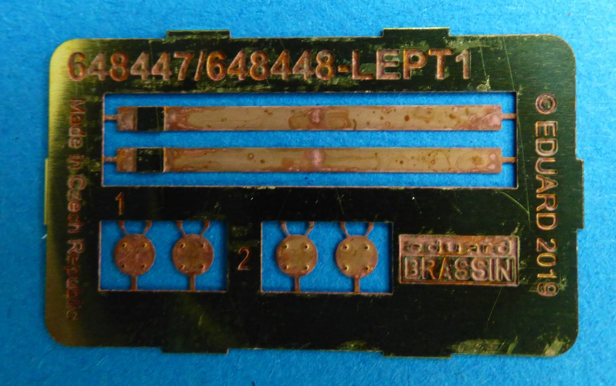 Eduard-648459-und-648460-6 B 43 Nuclear Weapons in 1:48 von Eduard #648459 und #648459