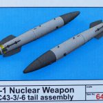 Eduard-648460-150x150 B 43 Nuclear Weapons in 1:48 von Eduard #648459 und #648459