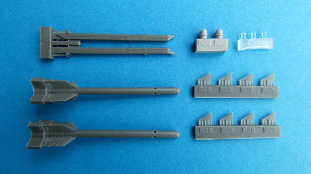 Eduard-648467-Shafrir-2-3 Shafrir 2 Raketen in 1:48 von Eduard # 648467