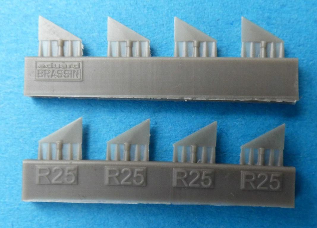Eduard-648467-Shafrir-2-6 Shafrir 2 Raketen in 1:48 von Eduard # 648467