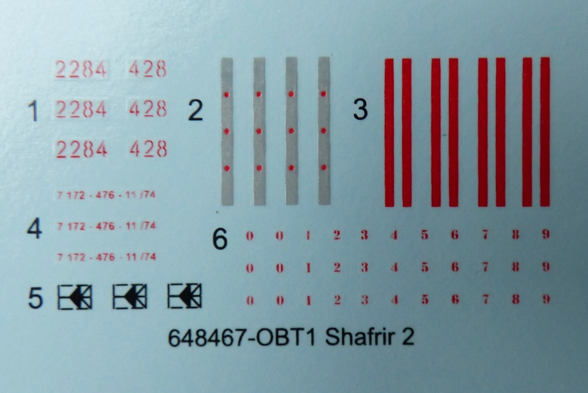 Eduard-648467-Shafrir-2-9 Shafrir 2 Raketen in 1:48 von Eduard # 648467