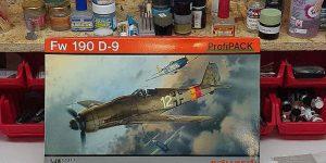 Werkstattbericht: FW 190 D-9 von Eduard in 1:48