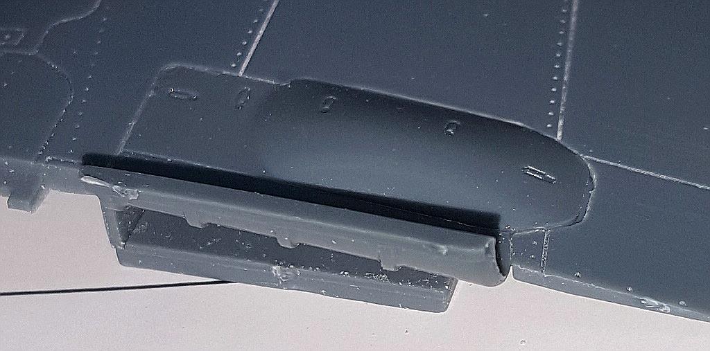 Eduard-8184-Fw-190-D-9-Werkstattbericht-Abdeckung-Flügel-einpassen Werkstattbericht: FW 190 D-9 von Eduard in 1:48