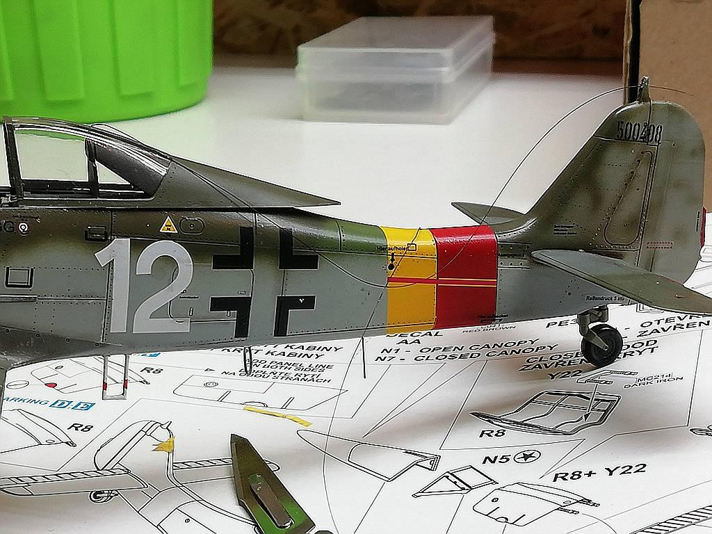 Eduard-8184-Fw-190-D-9-Werkstattbericht-Antenne-gezogen-fehler Werkstattbericht: FW 190 D-9 von Eduard in 1:48