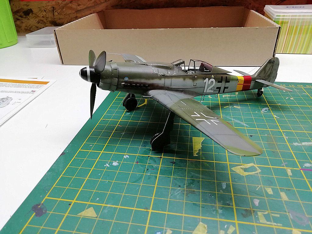 Eduard-8184-Fw-190-D-9-Werkstattbericht-Bis-auf-Antenne-fertig Werkstattbericht: FW 190 D-9 von Eduard in 1:48