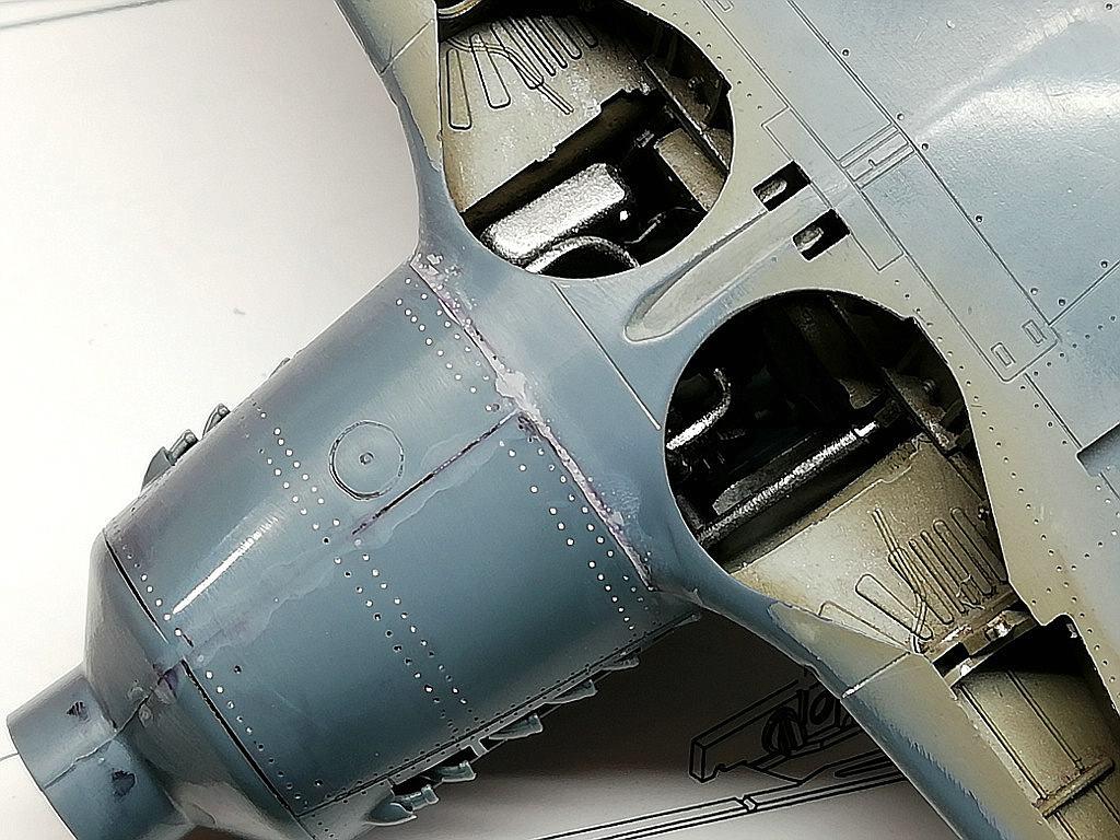 Eduard-8184-Fw-190-D-9-Werkstattbericht-Fertig-Schleifen-Citadel-1 Werkstattbericht: FW 190 D-9 von Eduard in 1:48